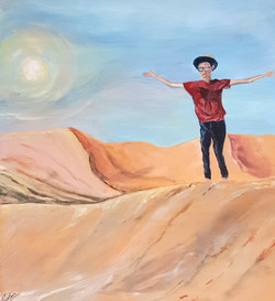WANDERING THROUGH THE DESERT