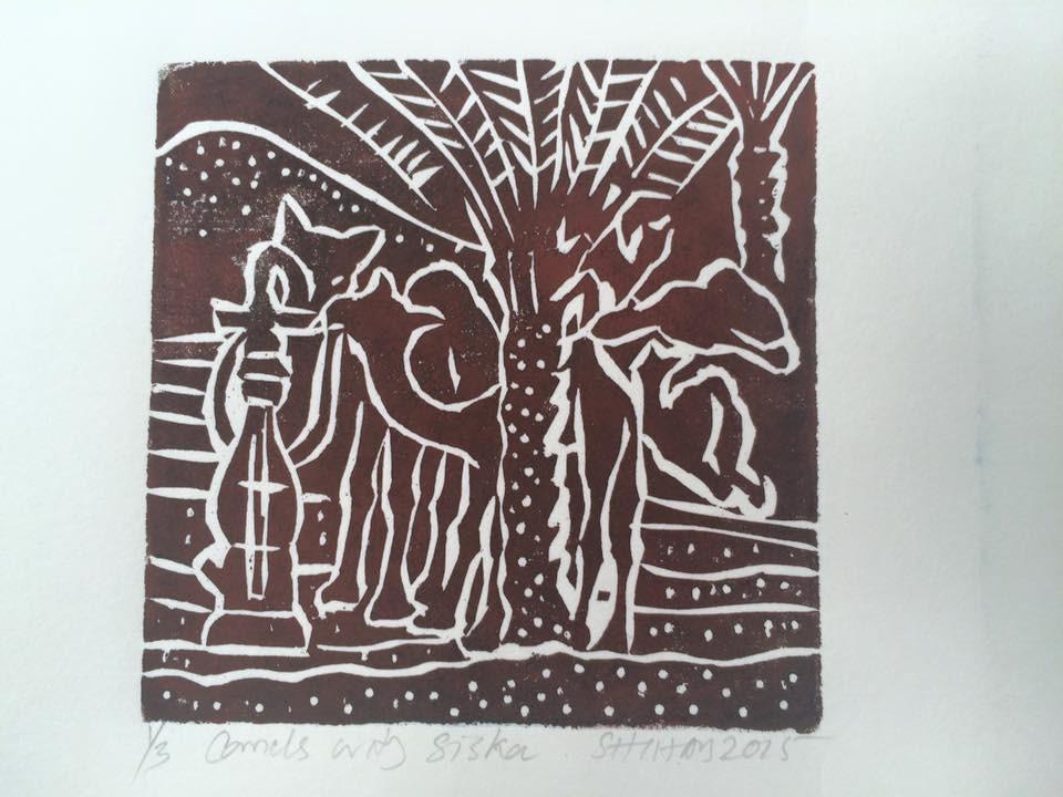 CAMELS WITH SISHA