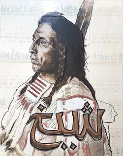 "Sheikh ""Crow/Apsaaloke Chief Medicin"