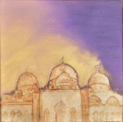 SOLD - WHITE MOSQUE SERIES