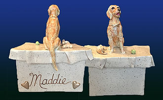 Golden Retriever Custom Dog Keepsake