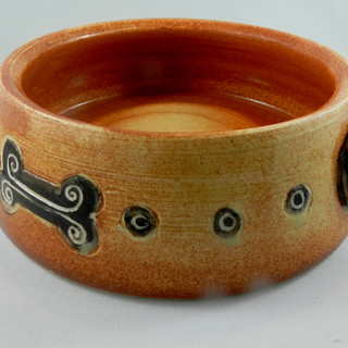 Custom Ceramic Dog Bowl. Eldoop