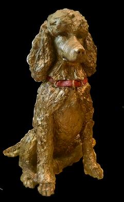Standard Poodle Custom Ceramic Urn