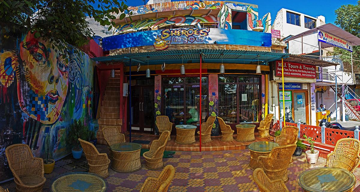 cafe sheroes hangout