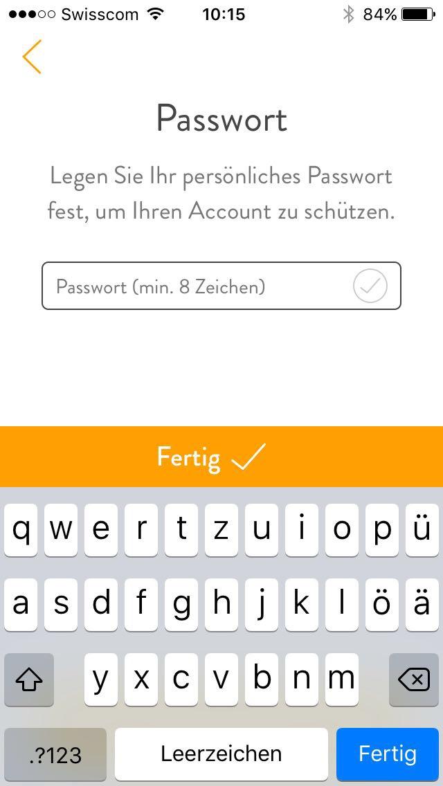 7 Passwort