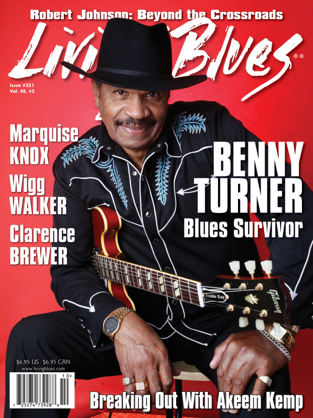 Living Blues cover