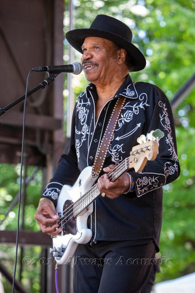 Benny at Chicago Blues Fest