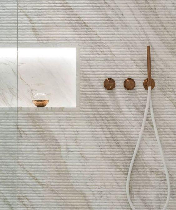 nicho de mármore