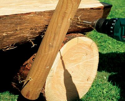 brutatec banco de madeira motosserra