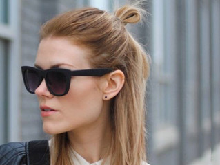 Half Bun: resolva os problemas do bad hair day