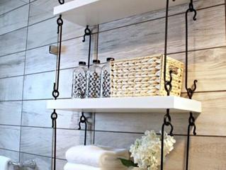 5 soluções para você decorar banheiros pequenos