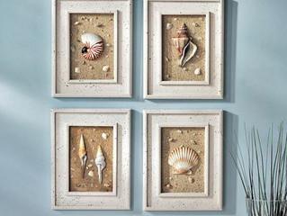 Varie a decoração do seu banheiro com quadros