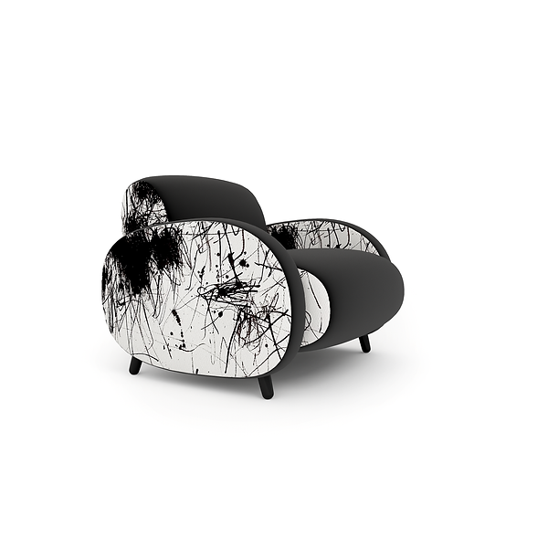 Slice armchair in black.png