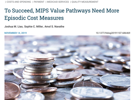 MIPS Value Pathways: A Worthy Effort, but More Cost Measures Needed for Success