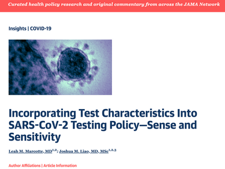 With More SARS-CoV-2 Tests, More Focus on Test Characteristics Also Needed