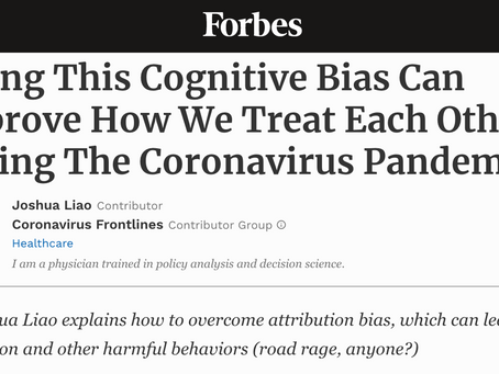 Want to understand and treat others better during Covid-19? Fix this cognitive bias