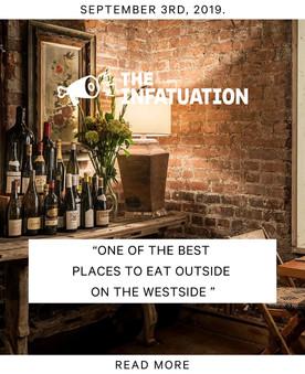 The Infatuation Press - Fia Restaurant Los Angeles California