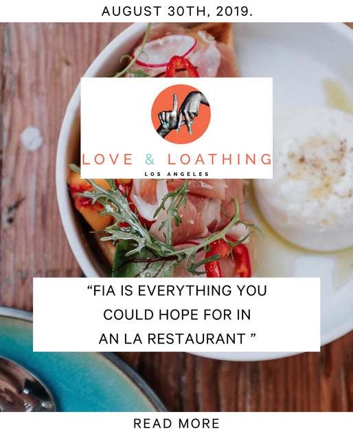 Love & Loathing Los Angeles - Food Blooger Instagram Press Post