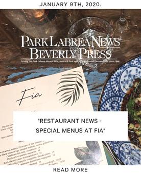 PARK LA BREA NEWS - BEVERLY PRESS
