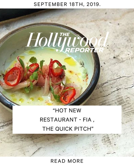 Hollywood Reporter - Fia Press