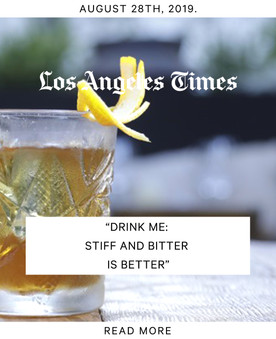 Los Angeles Times Press - Fia Restaurant Los Angeles
