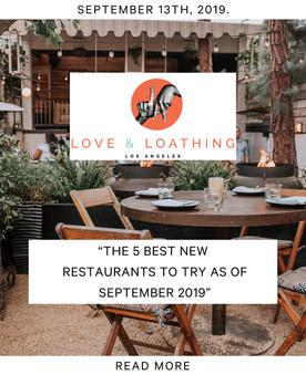 Love & Loathing Los Angeles - Press