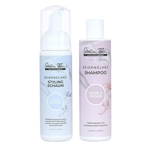 Sebastian Böhm Seidenglanz Shampoo & Stylingschaum Duo