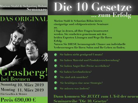 Marion Stahl & Sebastian Böhm Seminare 2019