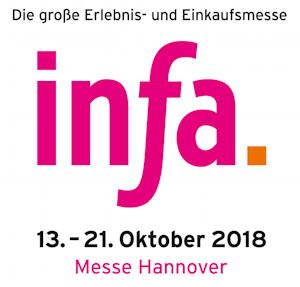 Sebastian Böhm & Team auf der INFA Messe in Hannover