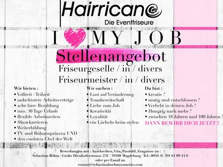 """Stellengesuch """" I <3 MY JOB """""""