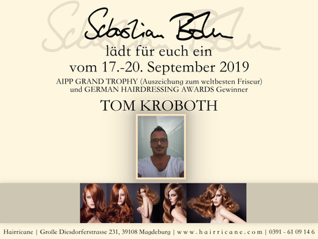 """Termin beim """"Weltbesten Friseur"""" Tom Kroboth im HAIRRICANE"""