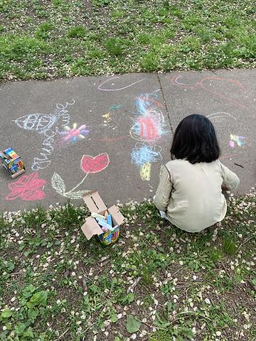 KP Child chalk .HEIC