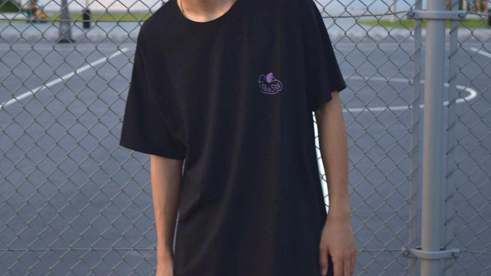 back printT-shirt