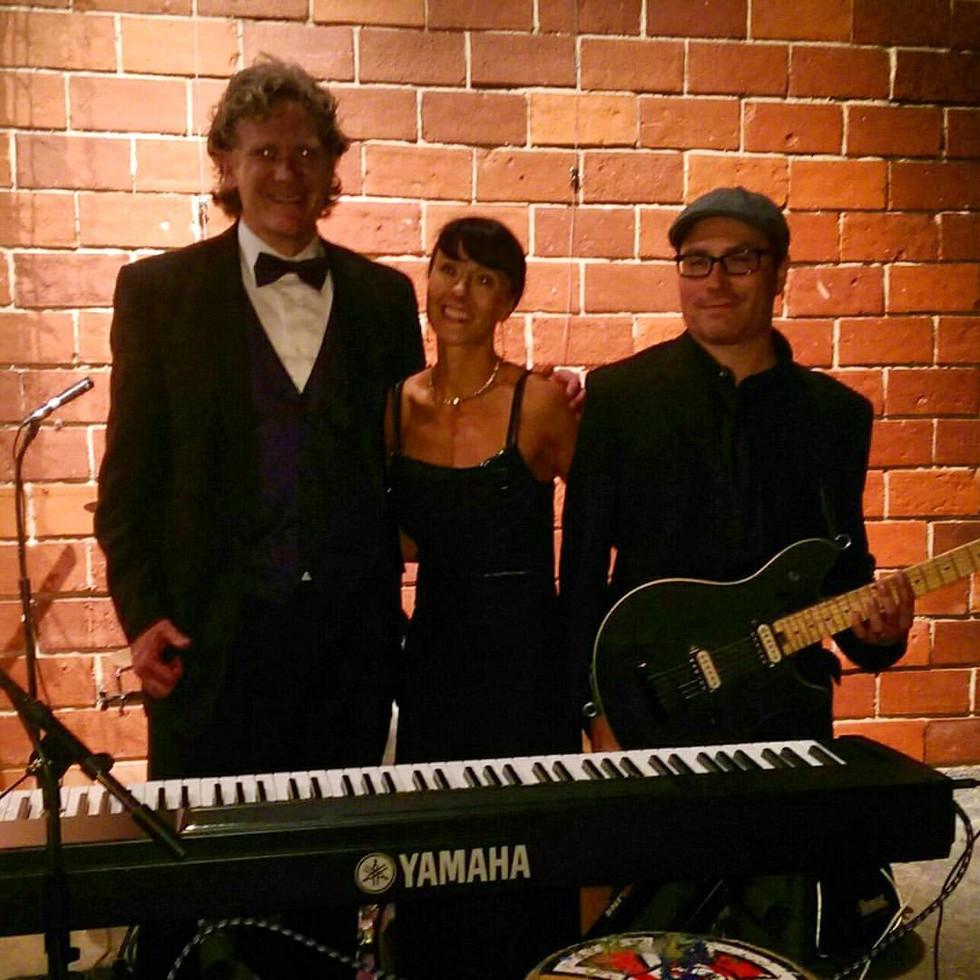 Academy Awards Party 2017, Johnny Beane, Chuck Butler, and I