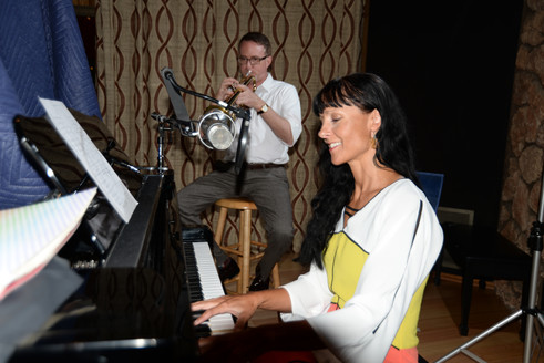 Chris Grady, Trumpet player and I, Fantasy Studios
