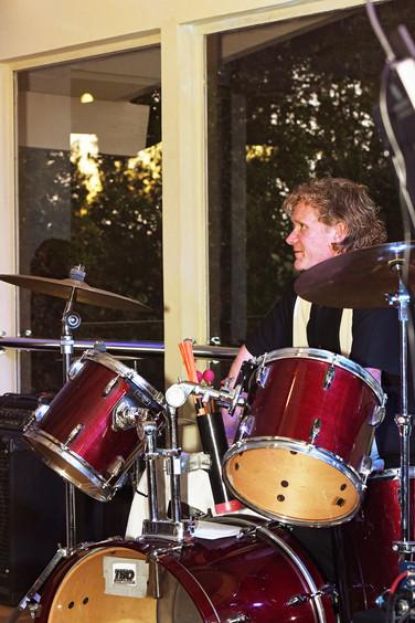 Chuck Butler, drummer, Hills spring 2016