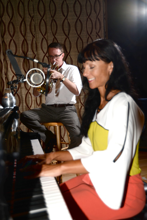 Fantasy Studios with Trumpet Player Chris Grady