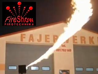 X2 wave flamer - ciche pokazy ogniowe!