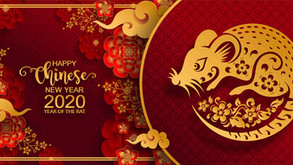 CHINESE NEW YEAR - THE YEAR OF 'THE RAT'