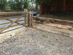 Front Driveway Gate and Fencing