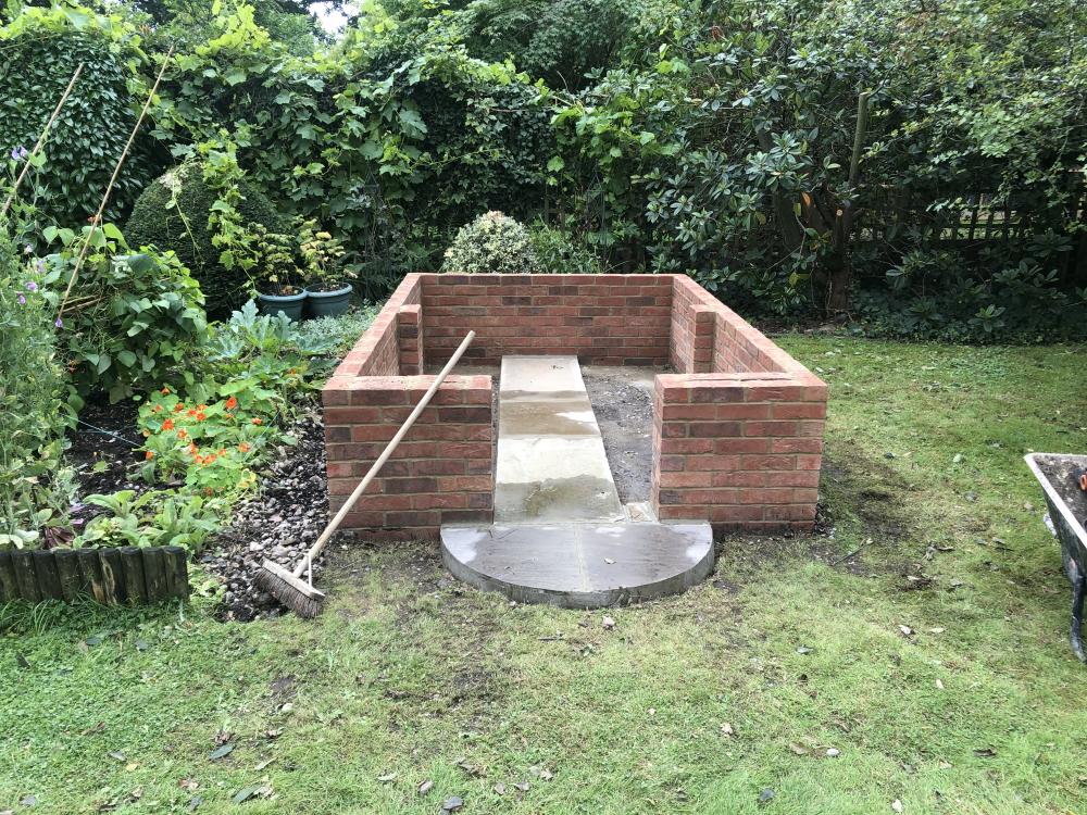 Garden structure base