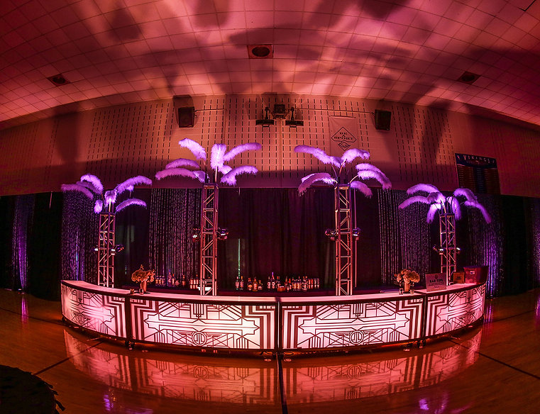 Corporate Gatsby Themed Event Super Bar