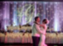 Wedding Head Table Lighting and Decor.jp