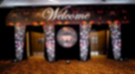Corporate Event Diamonds Themed Entrance