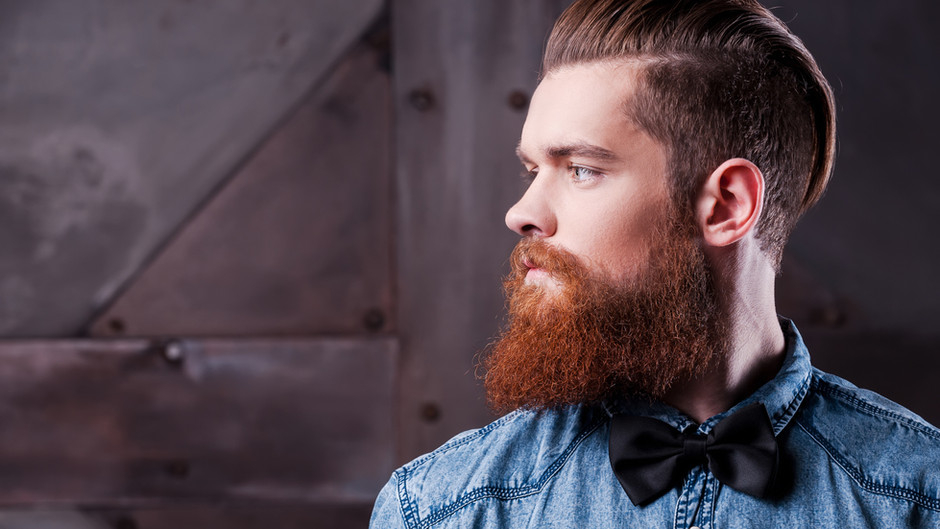 Beards may be more about self-esteem than about quarantine.