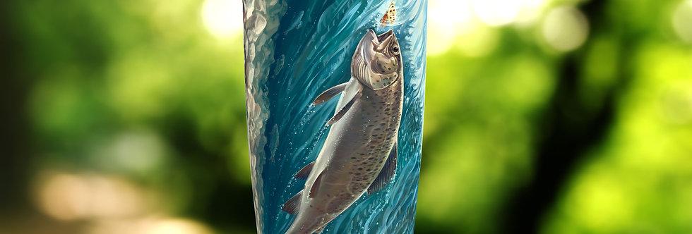 Trout Fish 20oz Tumbler