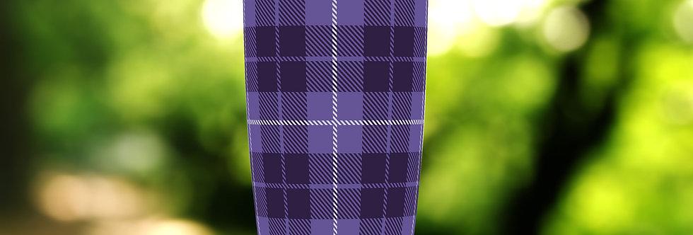 Purple Tartan Plaid 20oz Tumbler