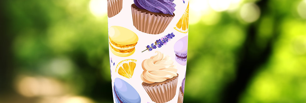 Purple Cupcakes 20oz Tumbler