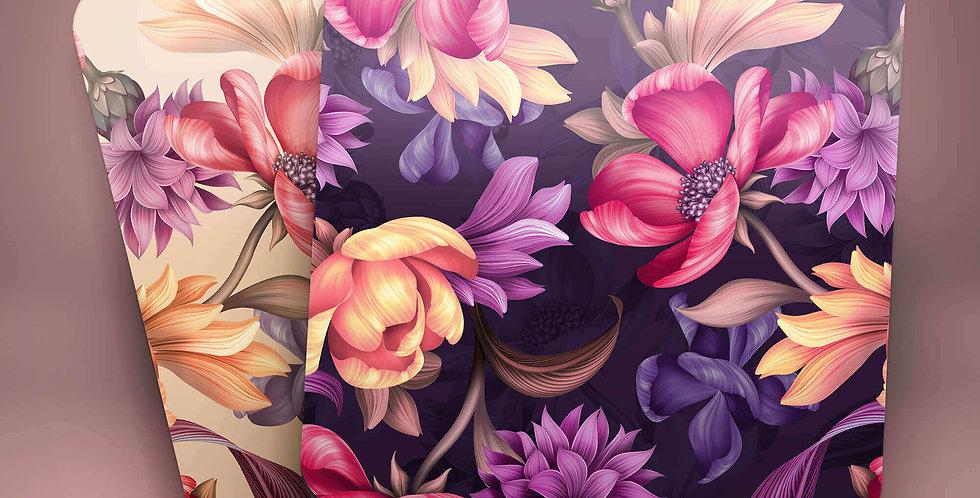 Floral Drink Coasters (Set of 4)
