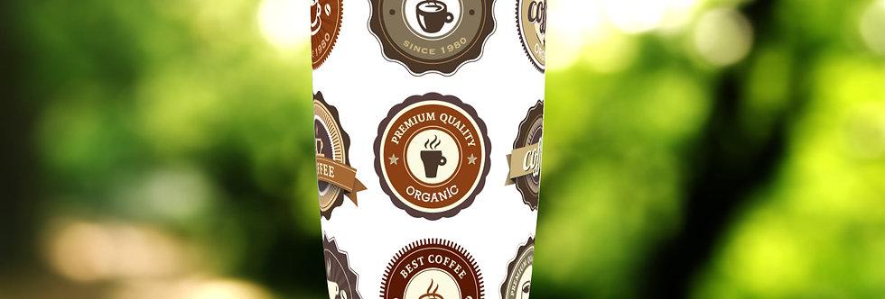 Coffee Badges II 20oz Tumbler